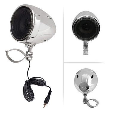 Motorbike Scooter ATV Bike Handlebar Speakers And Amplifier System MP3 IPOD Thumbnail 4