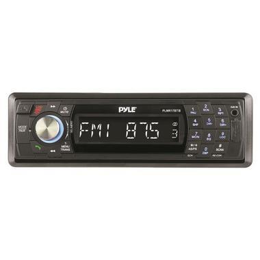 Pyle PLMR17BTB AM/FM Marine Detachable Face Radio w/SD/MMC/USB & Bluetooth Thumbnail 3