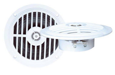 """Pair Of 5.25"""" WaterProof Ceiling In Wall Hi Fi Speakers Bathroom Boat Lounge Thumbnail 1"""