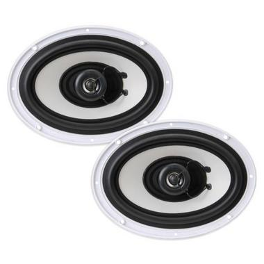 "Pyle WaterProof Outdoor Boat Patio Marine 6x9"" Inch In Wall Cabin Speakers Thumbnail 3"