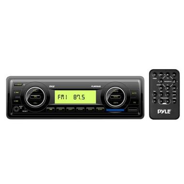 Pyle Marine Non-CD MP3 Car Stereo Headunit FM AM Radio Player USB SD Card iPod Thumbnail 1