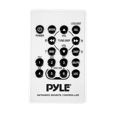 Pyle PLMR88W AM/FM-MPX In Dash Marine MP3 Player/USB & SD Card Function Thumbnail 6