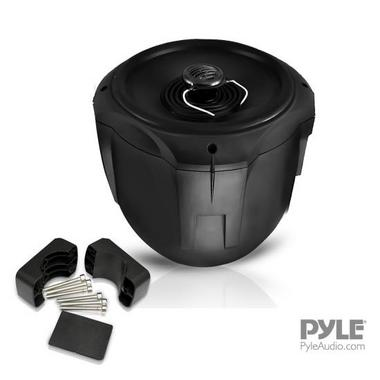 Pyle PLMRB85 8 inch 600W 2-Way Marine Wake Board Tower Pod Speakers Pair Thumbnail 6
