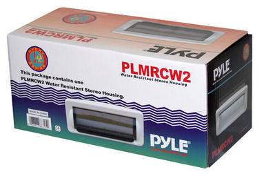 Pyle PLMRCW2 White Water Resistant Marine Boat Outdoor Radio Shield Thumbnail 4