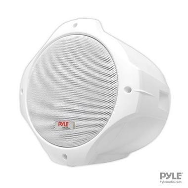 Pyle Hydra WaterProof Monster 400w Marine White Boat Wakeboard Tower Speakers Thumbnail 3