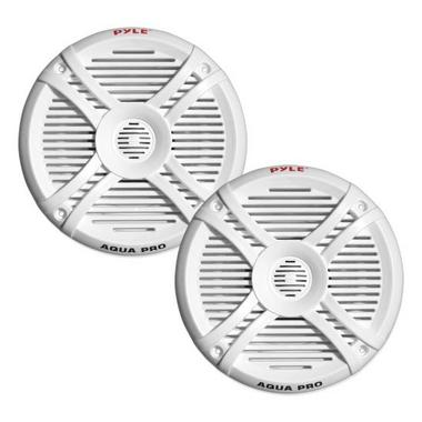 "Pyle WaterProof Outdoor Boat Patio Marine 6.5"" Inch In Wall Cabin Speakers Thumbnail 1"