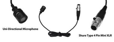 Pyle-Pro PLMS30 Wired Lavalier Mini XLR Uni-Directional Microphone ( For Shure System) Thumbnail 3