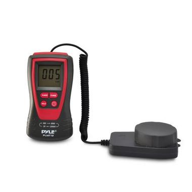 Pyle PLMT12 Lux Light Meter Photometer with 20000 Lux Range Digital Display Thumbnail 3