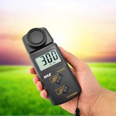 Pyle PLMT21 Handheld Lux Light Meter Photometer with 20000 Lux Range Per Second Thumbnail 5