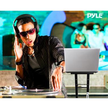 Pyle PLPTS35 Universal Portable Foldable Professional DJ Laptop Controller Stand Thumbnail 7