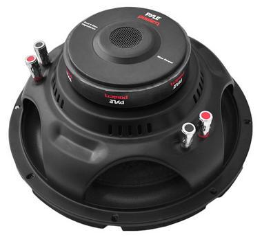 Pyle PLPW12D 12'' 1600 Watt Dual Voice Coil 4 Ohm Subwoofer Thumbnail 3