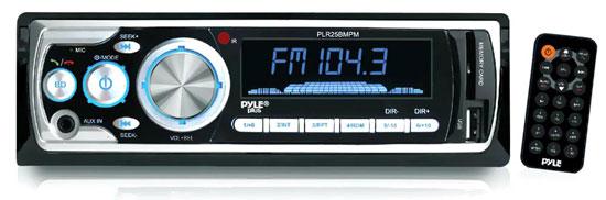 PLR25BMPM Car Audio Bluetooth In Dash Digital AM/FM USB SD AUX MP3 Receiver Thumbnail 1