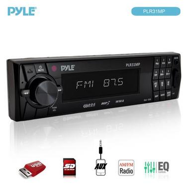 PYLE PLR31MP AM/FM MPX PLL TURNING RADIO Thumbnail 3