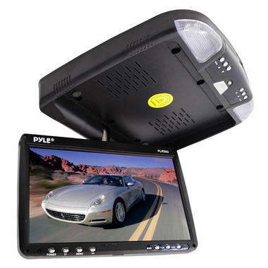 PLRD92 9'' FlipDown RoofMount Monitor & DVD Player Wireless IR & FM Modulator Thumbnail 5