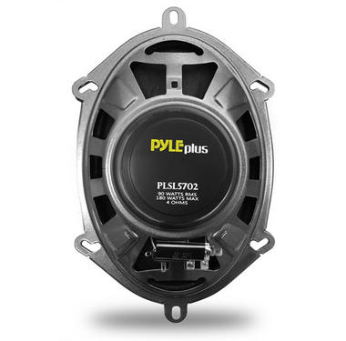 Pyle PLSL5702 5'' x 7'' 6'' x 8'' 180w Slim Mount Two-Way Coaxial Speakers Thumbnail 3