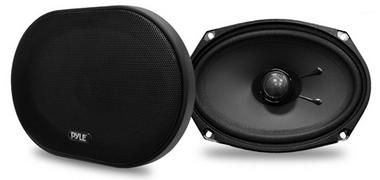 Pyle PLSL6902 6''x 9'' 240 Watt Slim Mount Two-Way Coaxial Speakers Thumbnail 1