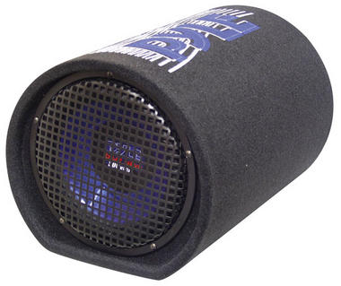 Pyle PLTB8 8'' 400 Watt Carpeted Subwoofer Tube Enclosure System Thumbnail 1