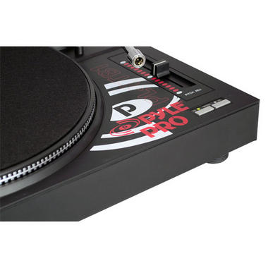 Pyle Pro Belt Drive Vinyl Turntable With Adjustable Pitch Cartridge And Stylus Thumbnail 4