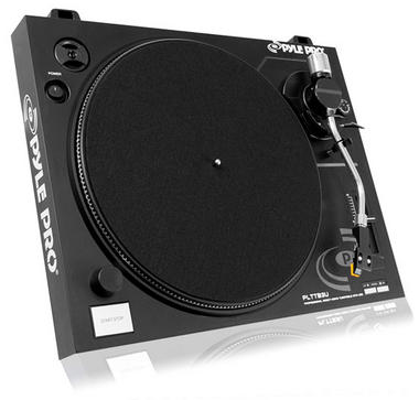 Pyle PLTTB3U Belt Drive USB Turntable With Recording & Digital Software Thumbnail 3