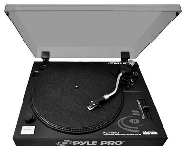 Pyle PLTTB3U Belt Drive USB Turntable With Recording & Digital Software Thumbnail 5