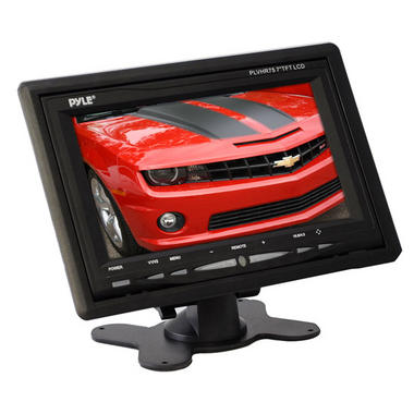 "Pyle PLVHR75 Pyle-View Series 7"" TFT LCD Widescreen Headrest Monitor Thumbnail 3"