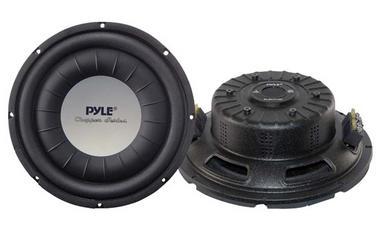 Pyle PLWCH10D 10 inch 1000W Ultra Slim DVC Car Van Truck Subwoofer Sub Thumbnail 1