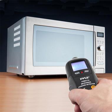 Pyle PMD74 Digital LCD Microwave Meter Leakage Detector Safety Testing Tool Thumbnail 6