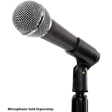 Pyle-Pro PMKS5 Compact Base Black Microphone Stand Thumbnail 5