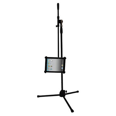Pyle-Pro PMKSPAD1 Multimedia Microphone Music Stand With Adapter For Ipad Thumbnail 3