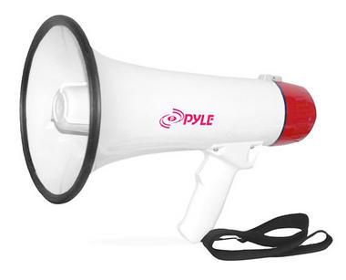 Pyle PMP40 Pro Megaphone Bullhorn 40w Pistol Grip & Handheld Microphone / Strap BAD BOX Thumbnail 1
