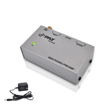PYLE-PRO PP444 Ultra Compact Phono Turntable Preamp Thumbnail 1