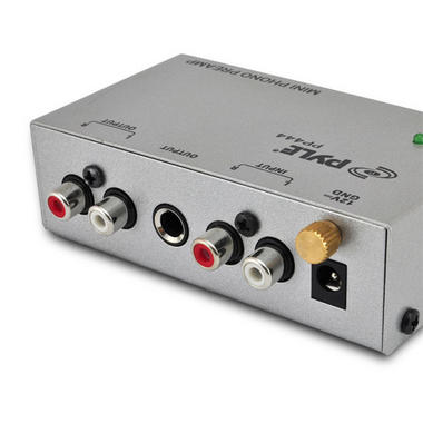 PYLE-PRO PP444 Ultra Compact Phono Turntable Preamp Thumbnail 3