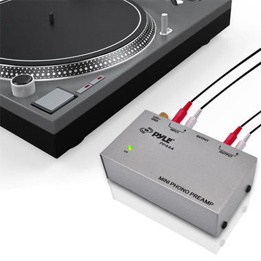 PYLE-PRO PP444 Ultra Compact Phono Turntable Preamp Thumbnail 6