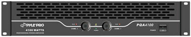 Pyle-Pro PQA4100 19'' Rack Mount 4100 Watts Professional Power Amplifier W/Digital SMT Technology Thumbnail 1