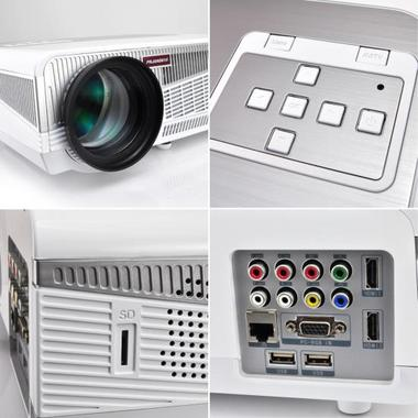 PYLE-HOME PRJAND615 PROJECTOR  HD, ANDROID W/ 5.8INCH LCD Thumbnail 3