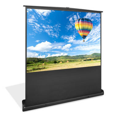 Pyle PRJSF1009 100 Inch Free Standing Portable Roll-Up Pull-Out Projector Screen Thumbnail 1