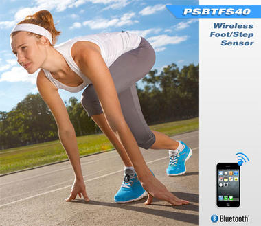 Pyle PSBTFS40 Wireless Bluetooth Footpod Fitness & Training Sensor Thumbnail 3