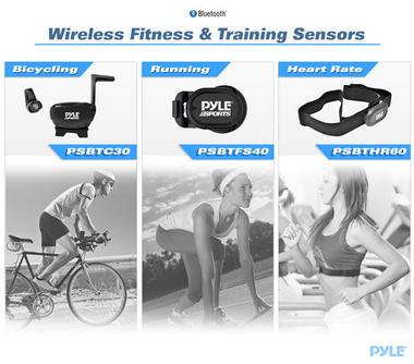 Pyle PSBTFS40 Wireless Bluetooth Footpod Fitness & Training Sensor Thumbnail 4