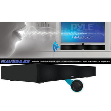 PYLE-HOME PSBV600BT BLUETOOTH TABLETOP TV SOUNDBASE SPEAKER Thumbnail 6