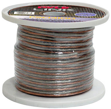 Pyle PSC14100 14 Gauge 100 ft. Spool of High Quality Speaker Zip Wire Thumbnail 1