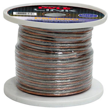Pyle PSC1650 16 Awg Gauge 50 ft Spool Roll of High Quality Stereo Speaker Wire Thumbnail 1