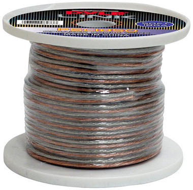 Pyle PSC1850 18 Awg Gauge 50 ft Spool Roll of High Quality Stereo Speaker Wire Thumbnail 1