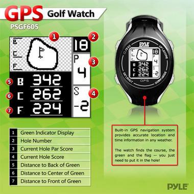 PYLE-SPORT PSGF605BL GOLF GPS Thumbnail 3