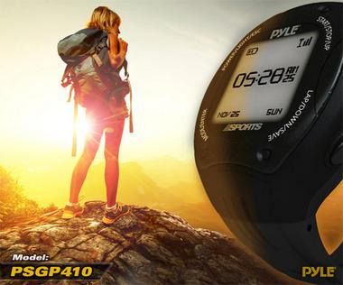 Pyle PSGP410GN Digital GPS Navigation Sports Training Watch ANT & E-compass Thumbnail 4