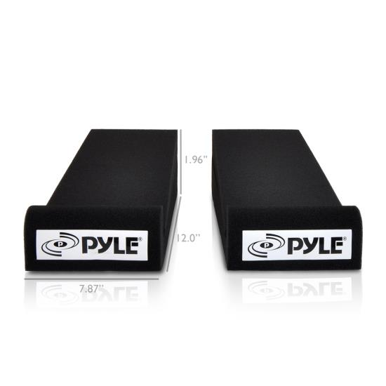 Pyle PSI01 Acoustic Sound Proofing Deadening Vibration Isolation Speaker Base Thumbnail 4