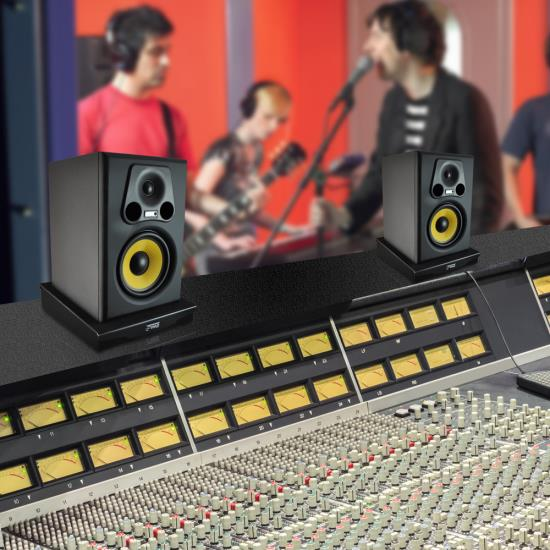 Pyle PSI06 Acoustic Sound Proofing Deadening Vibration Isolation Speaker Base Thumbnail 6