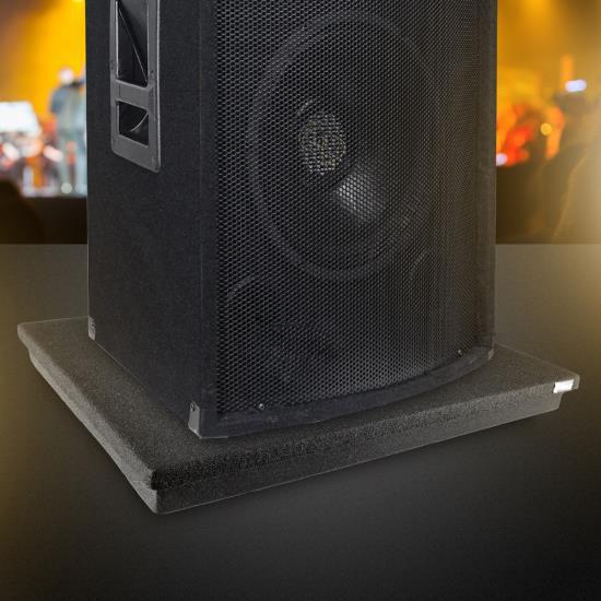 Pyle PSI12 Acoustic Sound Proofing Deadening Vibration Isolation Speaker Base Thumbnail 6