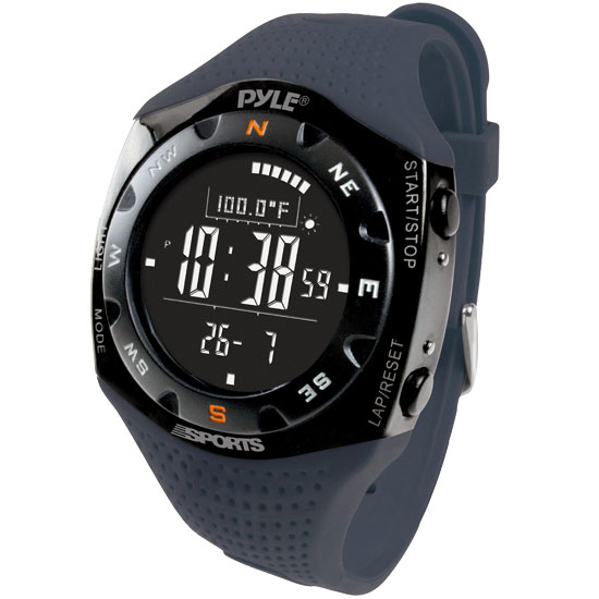 Pyle PSKIW25BL Ski Master V Professional Ski Compass Weather Watch Altimeter Thumbnail 1
