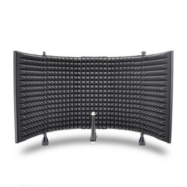 Pyle PSMRS11 Studio Microphone Isolation Shield with Sound Dampening Foam Thumbnail 3