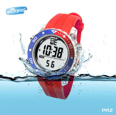 Pyle PSNKW30GN Snorkeling Swimming Sports Diving Watch Depth Temp Meter Thumbnail 3